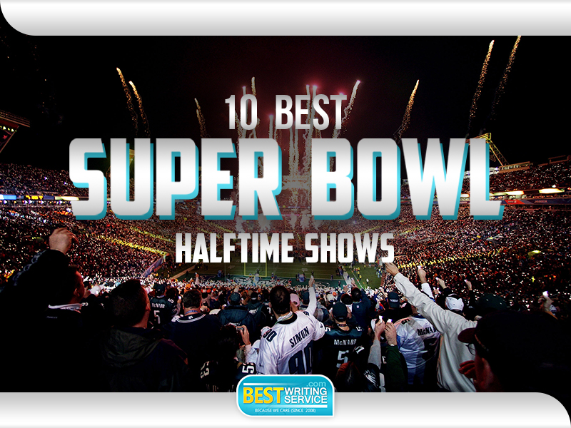 Best-Rated Superbowl Halftime Show