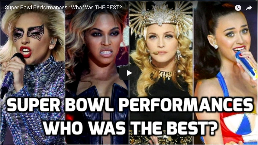 Super Bowl Perfomances