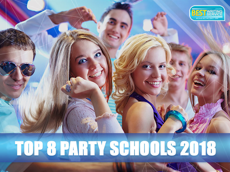 The Best Party Schools in 2018