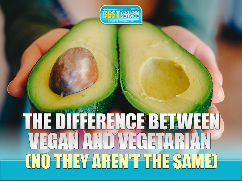 The Difference Between Vegan and Vegetarian (No They Aren't the Same)