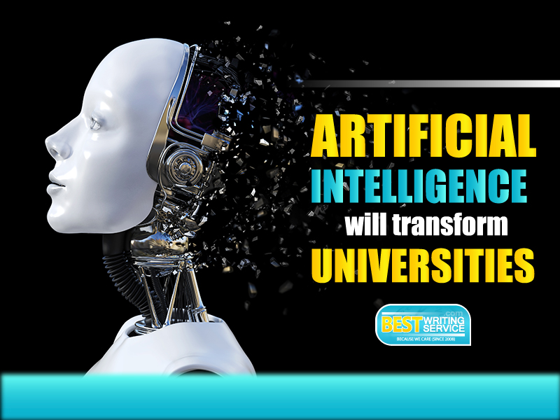 Artificial intelligence will transform universities