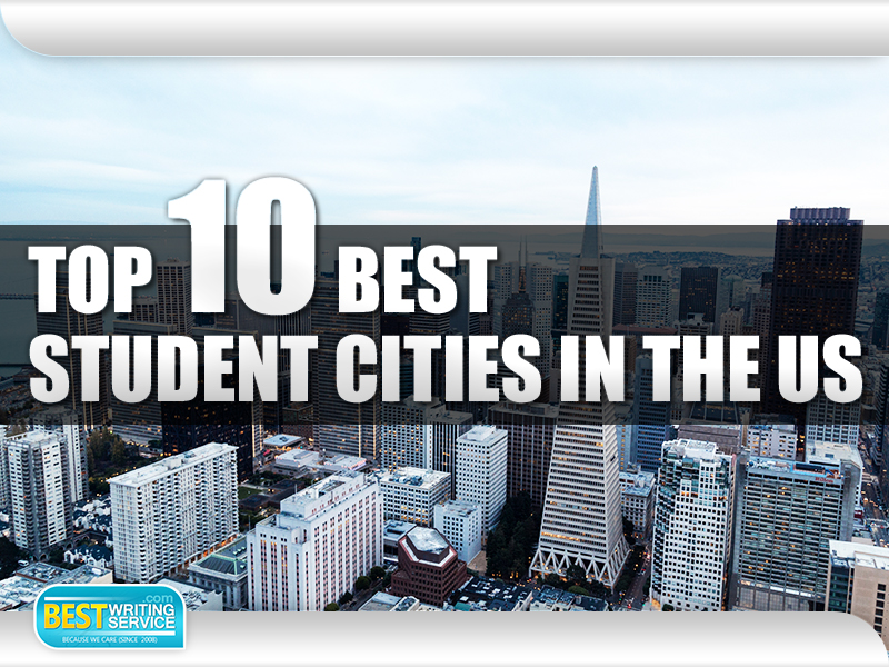 Top 10 Best Student Cities in the US