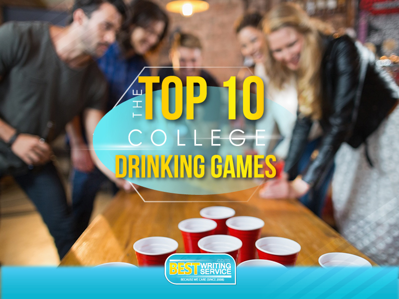 The TOP 10 College Drinking Games