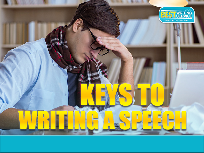 Keys To Writing A Speech
