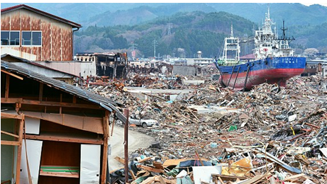 Aftermath of 2011 Japan Earthquake
